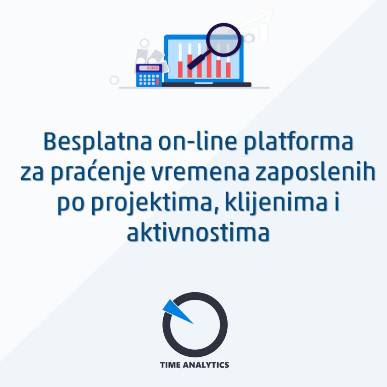 online platforma za praćenje vremena