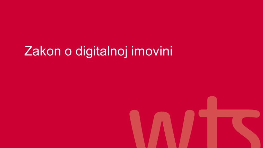 Zakon o digitalnoj imovini